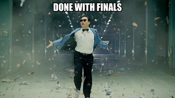 done with college meme