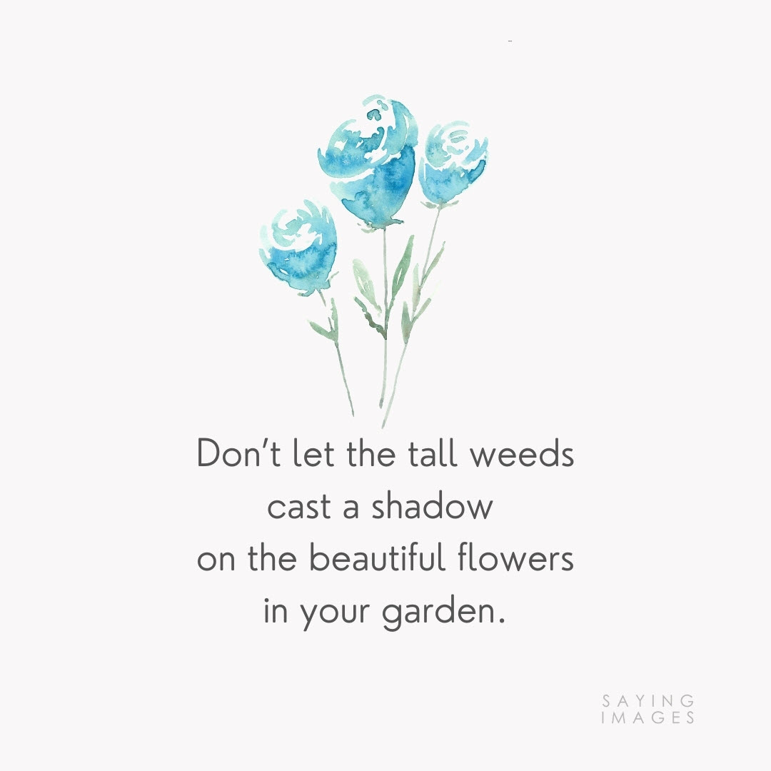 flower weeds quotes