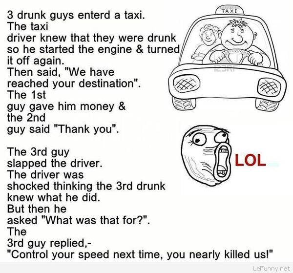 Amazing funny jokes for drunk people