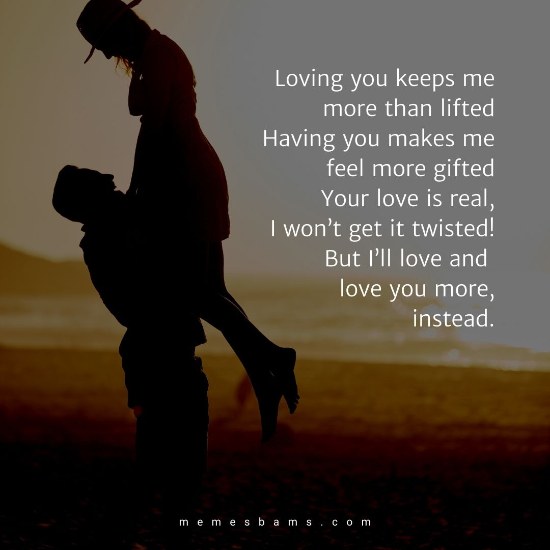 Really good love poems for her