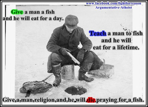 Exciting ice fishing meme