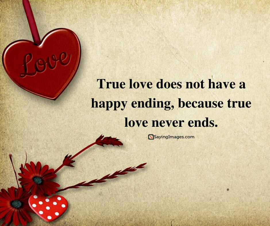 life and love ending quotes