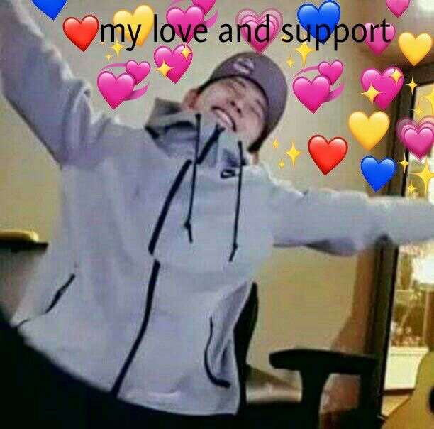 love and support exo meme