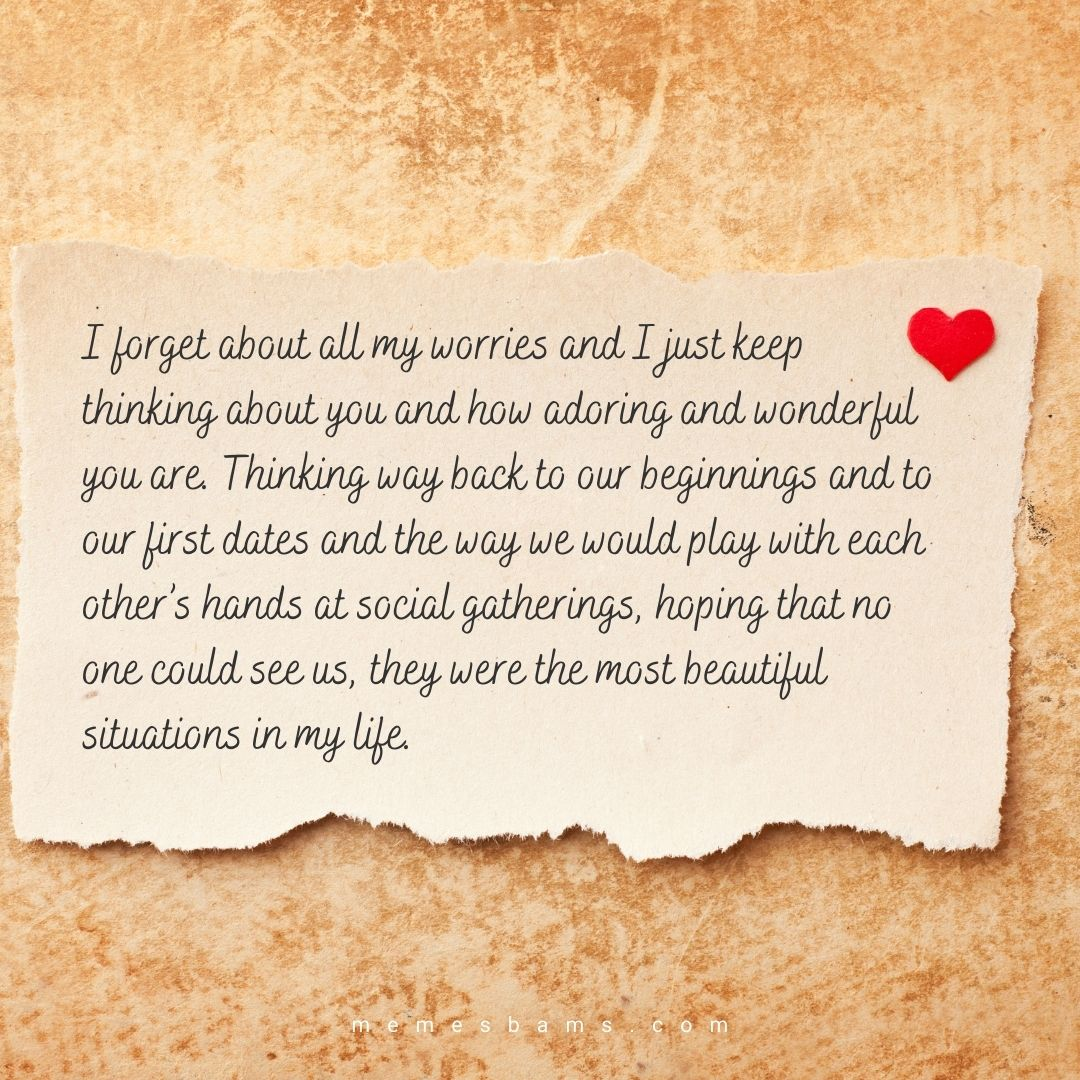 Special love letters for him