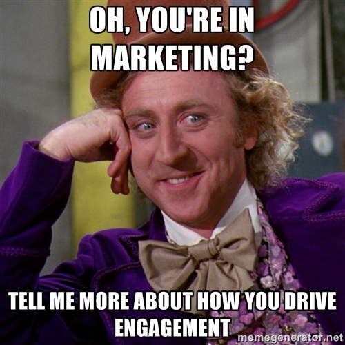 marketing meme oh youre in marketing