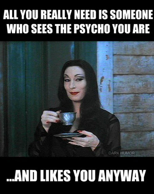 psycho you are meme