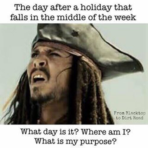 what day is it day after holiday meme