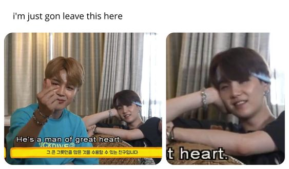 yoonmin gonna leave this here memes